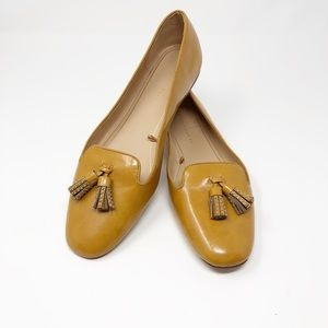 Zara Trafaluc Mustard Loafers - 10
